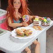 Куклы и игрушки ручной работы. Ярмарка Мастеров - ручная работа мини еда для кукол. Handmade.