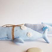 Куклы и игрушки ручной работы. Ярмарка Мастеров - ручная работа Кашалоты Тильда. Handmade.
