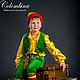 Детские карнавальные костюмы ручной работы. Ярмарка Мастеров - ручная работа. Купить Костюм гномика. Handmade. Зеленый, гномик, велюр