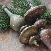 Сувениры и подарки handmade. Livemaster - original item Christmas decorations: Glass Christmas decorations. Handmade.