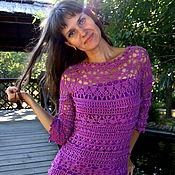 Одежда ручной работы. Ярмарка Мастеров - ручная работа Olivia (Vanessa Montoro) 100% шелк. Handmade.