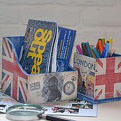 Для дома и интерьера ручной работы. Ярмарка Мастеров - ручная работа СКИДКА -20%   BRITISH STYLE набор. Handmade.