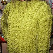 Одежда ручной работы. Ярмарка Мастеров - ручная работа Вязаный свитер женский. Handmade.