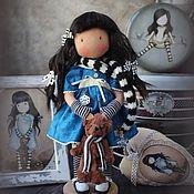 Куклы и игрушки ручной работы. Ярмарка Мастеров - ручная работа GORJUSS...коллекционная текстильная кукла. Handmade.