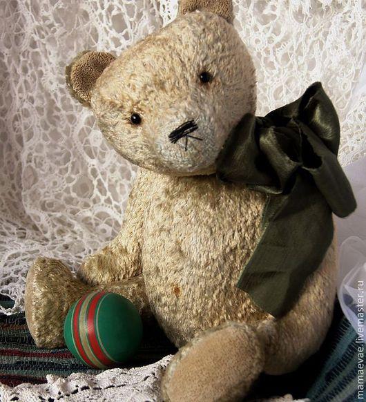 Мишки Тедди ручной работы. Ярмарка Мастеров - ручная работа. Купить Мишка. Handmade. Салатовый, винтажный стиль, ирис