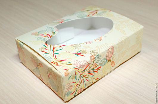 Упаковка ручной работы. Ярмарка Мастеров - ручная работа. Купить Коробочка 9x6,5x2,5 см.. Handmade. Белый