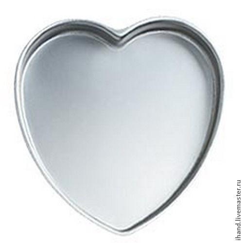 Другие виды рукоделия ручной работы. Ярмарка Мастеров - ручная работа. Купить Метал.форма для выпечки: Сердце, 23 см. Handmade.