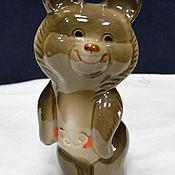Винтаж handmade. Livemaster - original item Figure figurine Olympic Bear rare 1970-ies. Handmade.