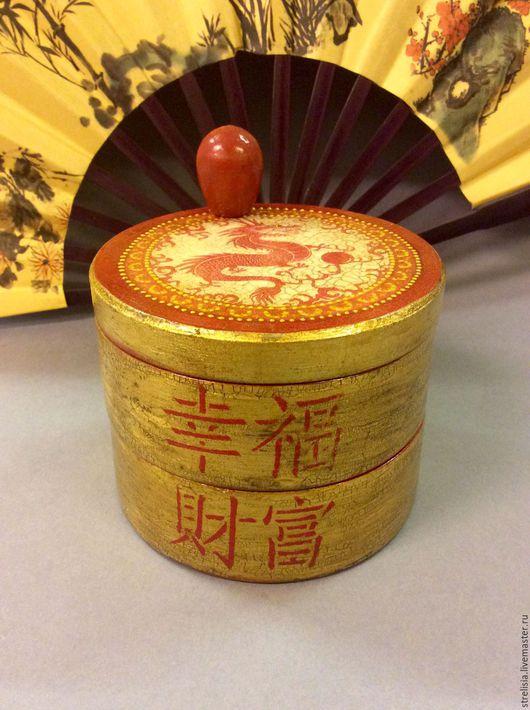 Кухня ручной работы. Ярмарка Мастеров - ручная работа. Купить Старый Китай. шкатулка в китайском стиле. Handmade. Шкатулка деревянная