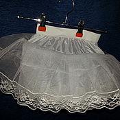 Одежда ручной работы. Ярмарка Мастеров - ручная работа Нижняя пышная юбка под платье. Handmade.