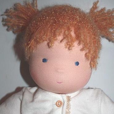 """Куклы и игрушки ручной работы. Ярмарка Мастеров - ручная работа Младенец - девочка """"Молочная нежность"""". Handmade."""