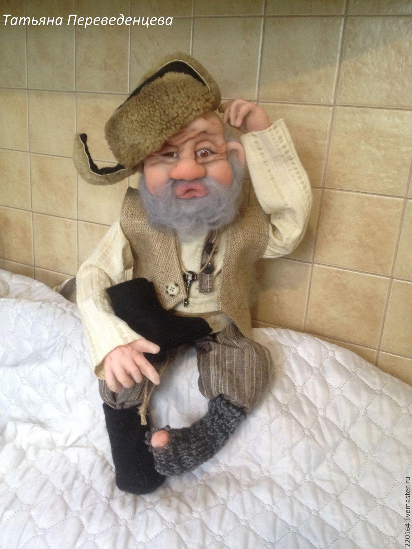 Куклы из колготок дедушка