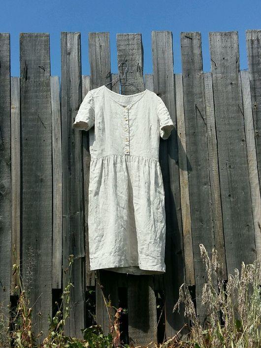 """Платья ручной работы. Ярмарка Мастеров - ручная работа. Купить Платье льняное """"Джун"""". Handmade. Лен, лён 100%"""