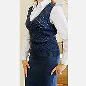 Одежда ручной работы. Ярмарка Мастеров - ручная работа Вязаный офисный костюм. Handmade.