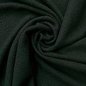 Ткани ручной работы. Ярмарка Мастеров - ручная работа Трикотаж темно зеленый шерстяной- лоден (Италия). Арт. 5734. Handmade.