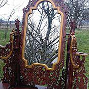 Зеркала ручной работы. Ярмарка Мастеров - ручная работа Дамское зеркало. Handmade.