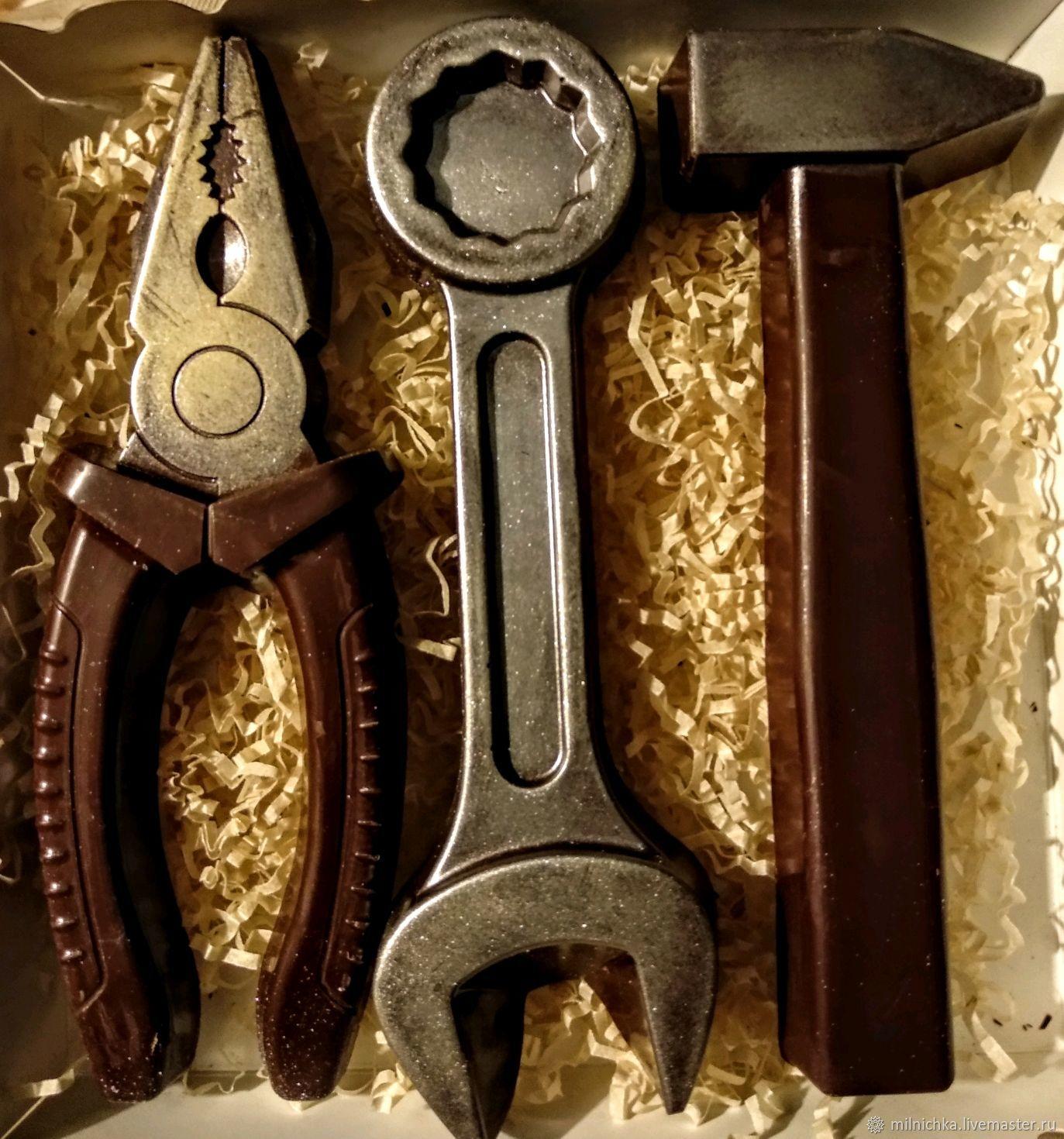 Шоколадные инструменты, Кулинарные сувениры, Москва,  Фото №1