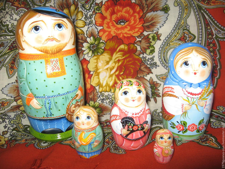 """матрешка 5 мест """"Семья"""", Матрешки, Красногорск, Фото №1"""