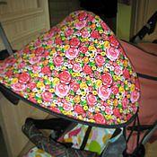 Работы для детей, ручной работы. Ярмарка Мастеров - ручная работа Козырек на коляски на санки на велик. Handmade.