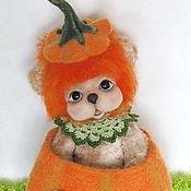 Куклы и игрушки handmade. Livemaster - original item Lion Teddy Girl.