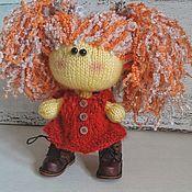 Куклы и игрушки ручной работы. Ярмарка Мастеров - ручная работа Вязаная кукла. Handmade.