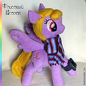 Куклы и игрушки ручной работы. Ярмарка Мастеров - ручная работа Пони. Мой маленький пони.. Handmade.