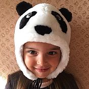 Работы для детей, handmade. Livemaster - original item Children`s mutton hat. Handmade.