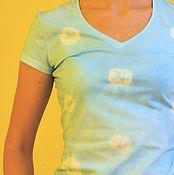 """Одежда ручной работы. Ярмарка Мастеров - ручная работа Футболка """"Поцелуи"""". Handmade."""