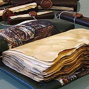 Канцелярские товары handmade. Livemaster - original item The author`s book for records SOULBOOK