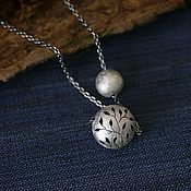 Украшения handmade. Livemaster - original item Necklace silver