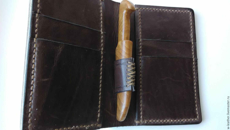wallet mens leather, Wallets, Nikolaev,  Фото №1