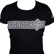 Русский стиль handmade. Livemaster - original item T-shirt Slavic amulet