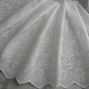 Материалы для творчества handmade. Livemaster - original item Cotton sewing on Batiste 35 cm