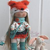 Куклы и игрушки ручной работы. Ярмарка Мастеров - ручная работа Текстильная куколка Нисси.. Handmade.