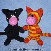 Куклы и игрушки ручной работы. Ярмарка Мастеров - ручная работа Игрушка котик. Handmade.