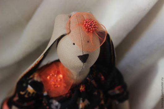 Куклы Тильды ручной работы. Ярмарка Мастеров - ручная работа. Купить Зайка Кокетка. Handmade. Кукла ручной работы, холлофайбер
