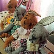 Куклы и игрушки ручной работы. Ярмарка Мастеров - ручная работа Зайчатки. Handmade.