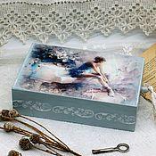 Для дома и интерьера handmade. Livemaster - original item Box pencil case Ballet ballet. Handmade.