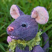 Куклы и игрушки ручной работы. Ярмарка Мастеров - ручная работа КрЫстина тедди крыса. Handmade.