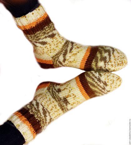 """Носки, Чулки ручной работы. Ярмарка Мастеров - ручная работа. Купить Вязаные мужские и женские носки """"Family look"""". Handmade."""