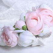 """Ободок с цветами """"Пионы"""""""