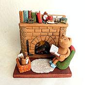 Сувениры и подарки handmade. Livemaster - original item By the fireplace. Ceramics. Handmade.