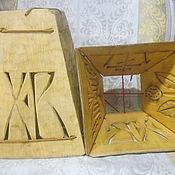 Подарки к праздникам ручной работы. Ярмарка Мастеров - ручная работа Пасочница-форма для творожной пасхи.. Handmade.