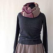 Одежда handmade. Livemaster - original item The plaid skirt and Snood set of long skirt and scarf in Bohemian style.. Handmade.