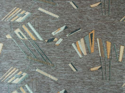 Шитье ручной работы. Ярмарка Мастеров - ручная работа. Купить Ткань мебельная, отрез 45х45. Handmade. Бежевый, мебельная ткань
