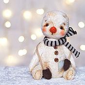 Куклы и игрушки ручной работы. Ярмарка Мастеров - ручная работа Теплый снег. Handmade.