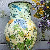 Для дома и интерьера handmade. Livemaster - original item Ceramic jug-jug Dragonfly. Handmade.