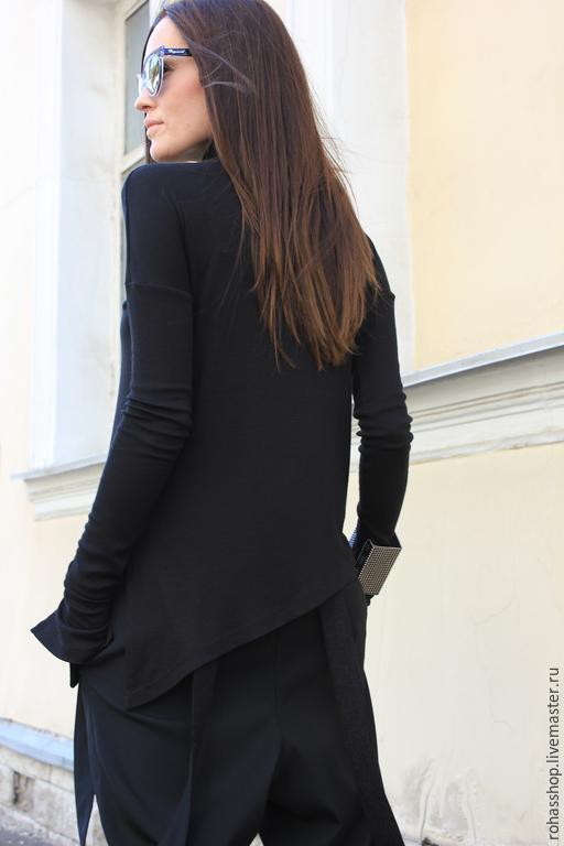 модные черные кофточки фото