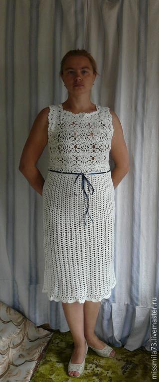 """Платья ручной работы. Ярмарка Мастеров - ручная работа. Купить платье ажурное """"в стиле Шанель"""". Handmade. Вечернее платье"""