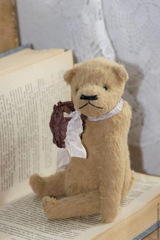 Мишки Тедди ручной работы. Ярмарка Мастеров - ручная работа. Купить Глаша. Handmade. Мишка, милый подарок, бежевый